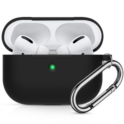 【TOYSELECT】聚合黑科技Airpods Pro矽膠保護套:霧砂黑