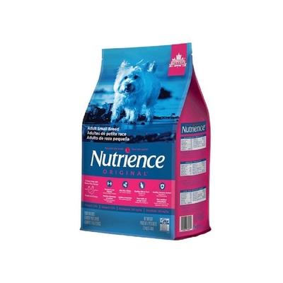 Nutrience紐崔斯ORIGINAL田園糧-小型成犬(雞肉+田園蔬果) 5kg(11lbs) 送全家禮卷50元*1張 (購買第二件都贈送寵鮮食零食*1包)