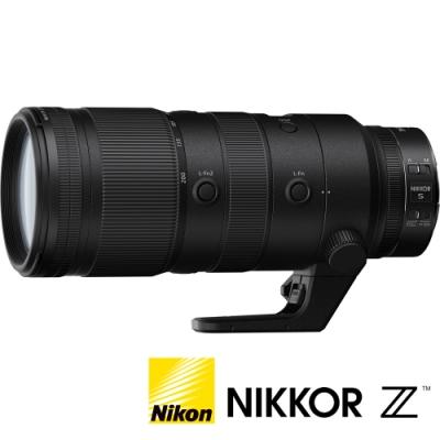 ★贈禮券★ NIKON Nikkor Z 70-200MM F2.8 VR S (公司貨) 望遠大光圈變焦鏡 大三元 Z 系列微單眼鏡頭