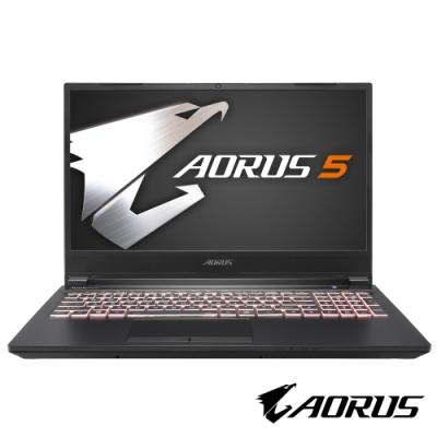 技嘉 AORUS 5 SB 電競筆電 (i7-10750H/GTX1660Ti/144Hz/16G/512G SSD/Win10/FHD)