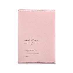 ICONIC 金釦對折護照短夾-甜美粉