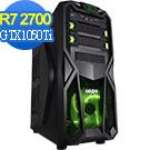 技嘉A320平台[黑龍騎士]R7八核GTX1050Ti獨顯電玩機