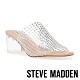 STEVE MADDEN-IDELLE 透明水鑽魚口涼拖鞋-透明 product thumbnail 1
