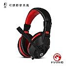 【MARVO魔蠍】H8321 電競立體聲耳罩式耳機 黑紅
