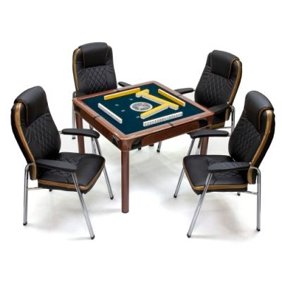 【商密特】G500 過山麻將機 餐桌套裝 可可棕