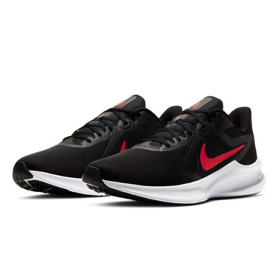 NIKE  緩震 慢跑 訓練 運動鞋  男鞋  黑紅  CI9981006  DOWNSHIFTER 10