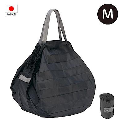 【日本Marna】Shupatto 秒收摺疊環保袋 (M) 黑