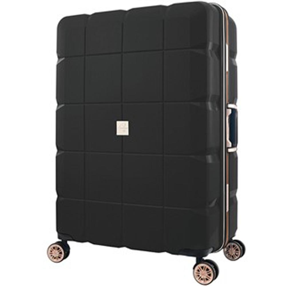 日本 LEGEND WALKER 6023-60-24吋 PP輕量行李箱 黑色