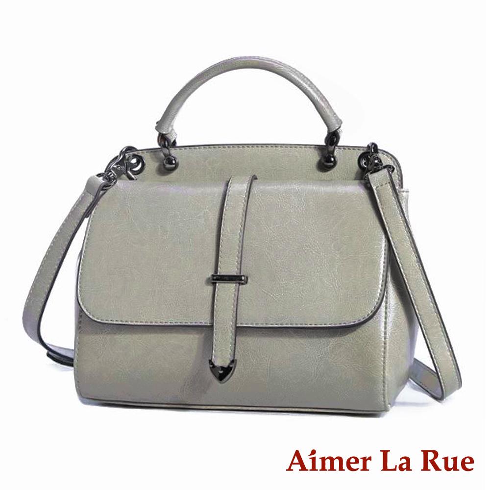 Aimer La Rue 側背斜背包 雙面牛皮布里斯系列(三色) product image 1
