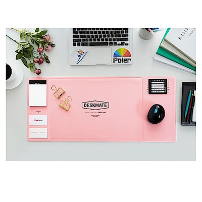 COMET 甜美多功能電腦桌墊-粉(EB-E18P)