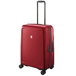 VICTORINOX 瑞士維氏CONNEX 可擴充26吋硬殼行李箱-紅