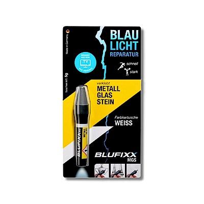 德國BLUFIXX 藍光固化膠/補充膠- 硬質型亮白色  德國製