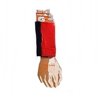 PCMAMA多用途運動手臂套手機套手腕袋手腕套Wrist Bag(黑+紅WC009;可放零錢紙鈔信用卡悠遊卡一卡通)