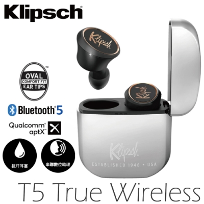 Klipsch 古力奇 無線耳機 T5 True Wireless 降噪 公司貨