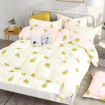 Ania Casa 波羅蜜 單人三件式 100%精梳棉 台灣製 床包被套純棉三件組