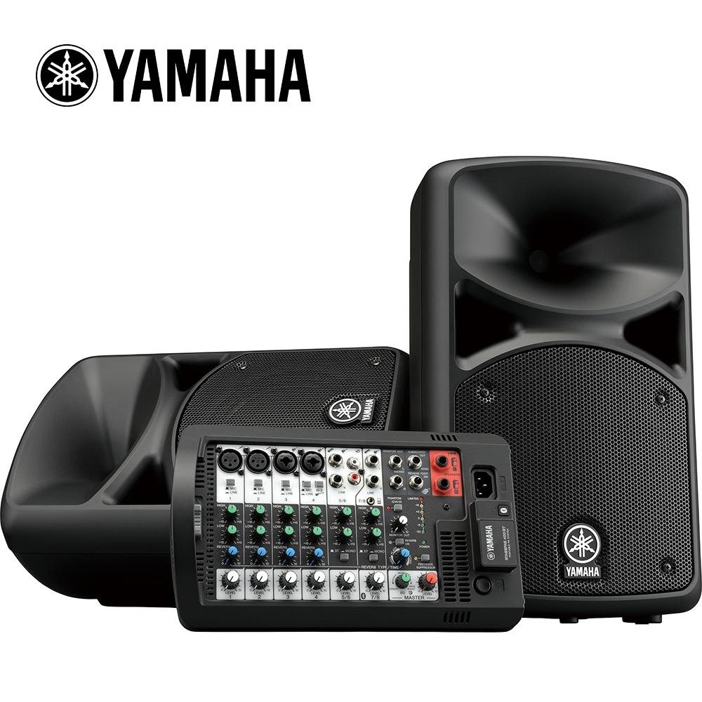 [無卡分期-12期] YAMAHA Stagepas 400BT 可攜式 PA 音響系統