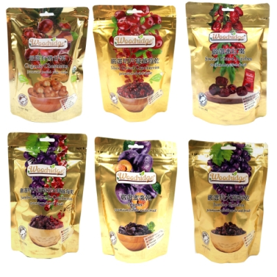 森之果物 果乾(180-350g)10包入 (葡萄乾+蔓越莓/蜜棗乾/蔓越莓/特大葡萄乾/有機甘栗/蜜紅棗)
