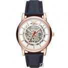 EMPORIO ARMANI Meccanico 雙面鏤空機械腕錶(AR60009)