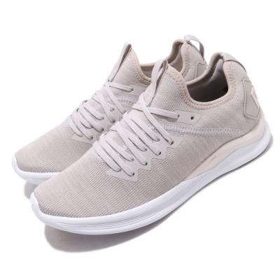 Puma 慢跑鞋 Ignite Flash 襪套 運動 女鞋 輕量 透氣 舒適 避震 路跑 健身 穿搭 灰 白 19051121