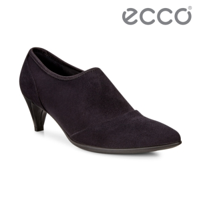 ECCO SHAPE 45 POINTY SLEEK 鬆緊式簡約踝靴-黑