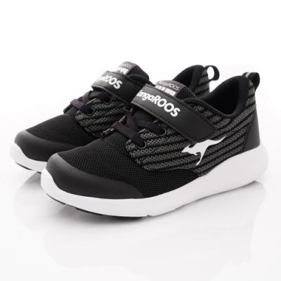 KangaROOS童鞋 LITE 137輕量運動鞋NI1220黑(中大童段)