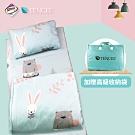 Ania Casa 吸濕排汗天絲 兒童睡墊三件組 鋪棉涼被 台灣製-守望
