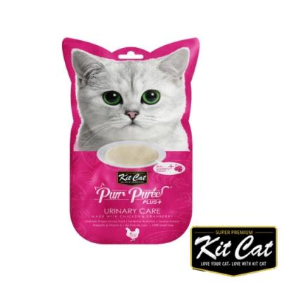 Kitcat呼嚕嚕肉泥-泌尿健康配方(雞肉) 60g 貓零食 貓肉條 貓肉泥 化毛 牛磺酸 保健零食