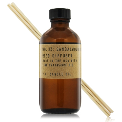 美國 P.F. Candle Co. 手工製室內擴香-檀香玫瑰 No.32 Sandalwood Rose3.5oz