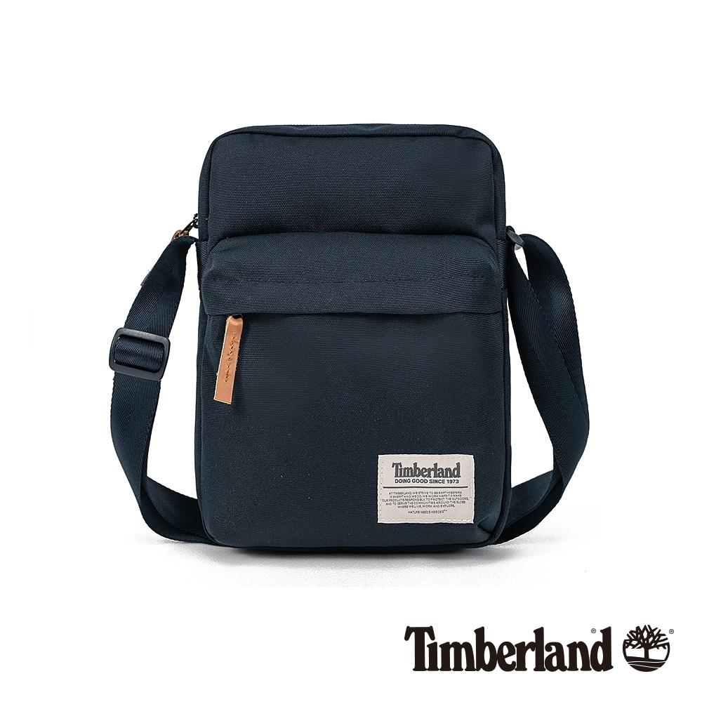 Timberland 中性深寶藍色休閒斜背包|A1D1Y