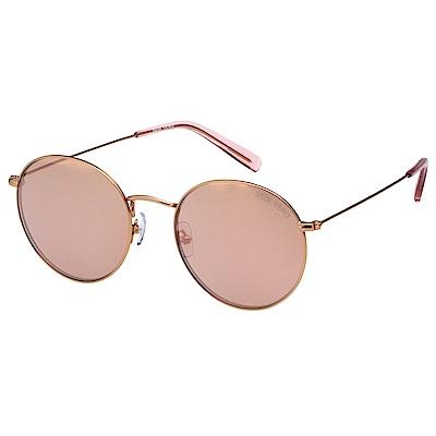 VEDI VERO 水銀面 復古 太陽眼鏡 (玫瑰金)VE767K