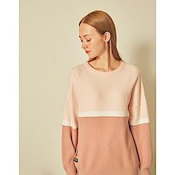 CACO-三色織毛織上衣(二色)-女【A2AR041】