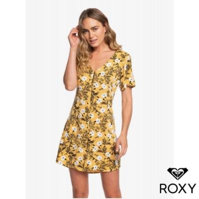 【ROXY】DAMAGE LOVE 洋裝 黃