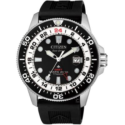 (無卡分期6期)CITIZEN星辰PROMASTER百搭潮流光動能手錶(BJ7110-11E)