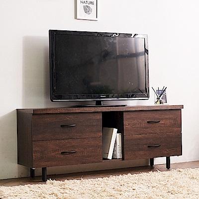 時尚屋 路恩西5尺電視櫃  寬120x深39.5x高61cm