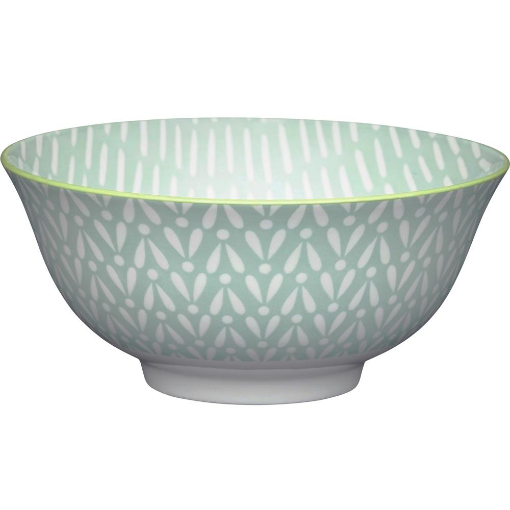 《KitchenCraft》陶製餐碗(歐風綠)