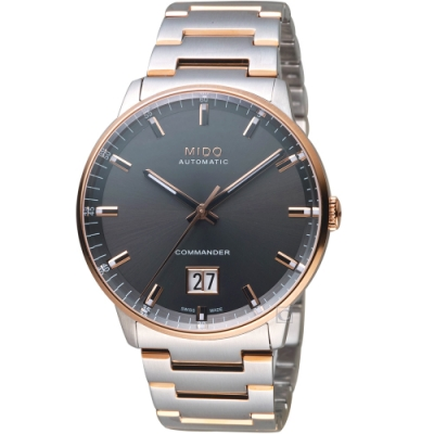 MIDO美度香謝系列大日期窗機械錶(M0216262206100)