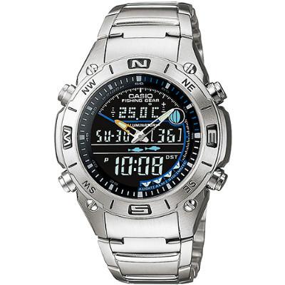 CASIO 多功能戶外專業不鏽鋼雙顯錶(AMW-703D-1A)/41.5mm