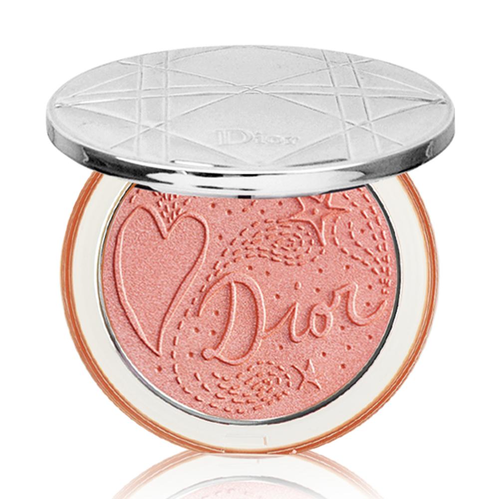 Dior迪奧 輕透光燦礦物蜜粉餅(戀戀織光限量版)#09 6g