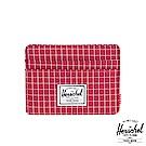 Herschel Charlie Wallet 卡夾-暗紅格紋