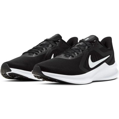 NIKE 慢跑鞋 男鞋 運動 休閒 路跑 健身 黑 CI9981004 DownShifter 10