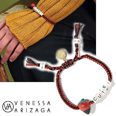 Venessa Arizaga BERRY CUTE 紅色X黑色手鍊 沙灘手鍊