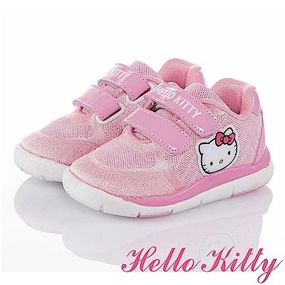 HelloKitty 輕量減壓抗菌防臭吸震休閒童鞋-粉