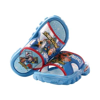 男童台灣製鋼鐵防衛隊拖鞋 sa00306 魔法Baby