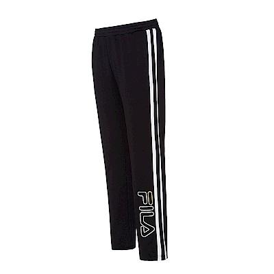 FILA男吸濕排汗長褲-黑 1PNS-5411-BK