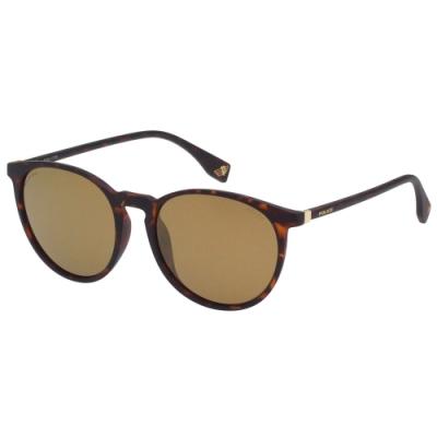 POLICE- 偏光片 水銀面 太陽眼鏡 (琥珀色)PE-983I