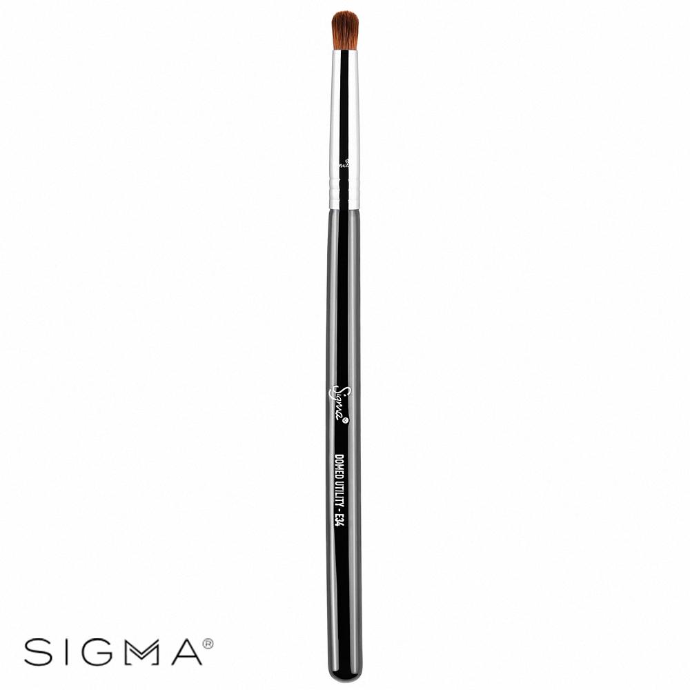 Sigma E34-圓柱形顯色眼影刷 Domed Utility Brush
