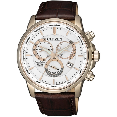CITIZEN星辰卓越非凡光動能手錶(BL8153-11A)