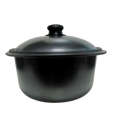 派樂嚴選 遠紅外線航鈦合金歐式精鑄梅花鍋(28公分) 遠赤外線鍋