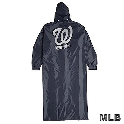 MLB - 美國職棒大聯盟前排開釦式雨衣-國民隊