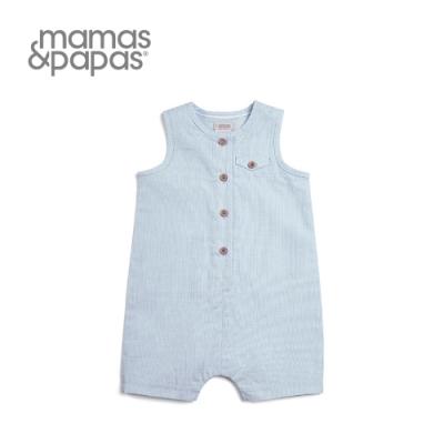 Mamas&Papas 天空傳聲筒-無袖連身寬褲